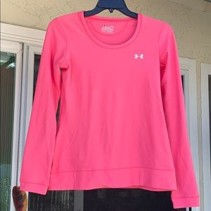Under Armour fitted long sleeve size large